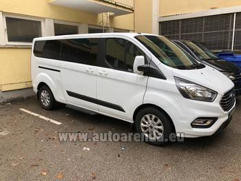 Аренда автомобиля Ford Tourneo Custom 9 мест в Нанте