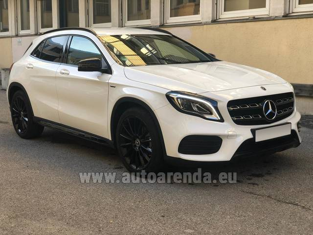 Аренда авто Mercedes-Benz GLA 200 во Франции