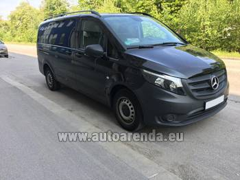 Аренда автомобиля Mercedes-Benz VITO Tourer, 9 мест в Нанте