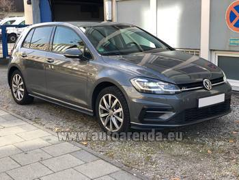Аренда автомобиля Volkswagen Golf 7 в Марселе