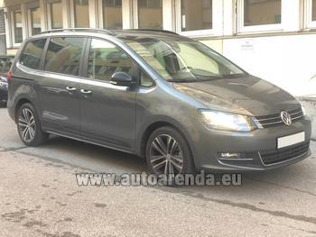 Аренда автомобиля Volkswagen Sharan 4motion в Лиль