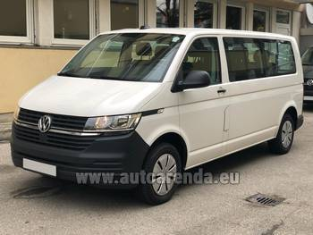 Аренда автомобиля Volkswagen Transporter Long T6 (9 мест) в Ницце